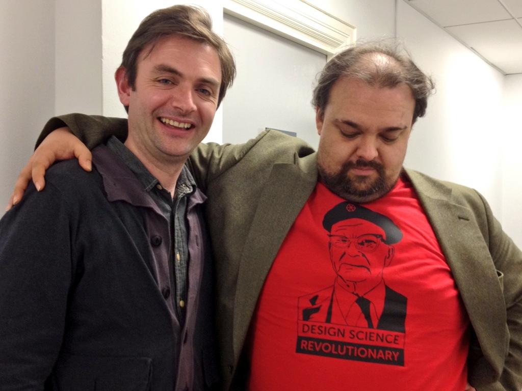 Ian Willey, Vinay Gupta, Design Science Revolution shirt